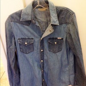 MOTHER denim Shirt size small